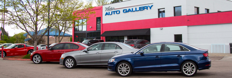 weston auto gallery storefront fort collins colorado