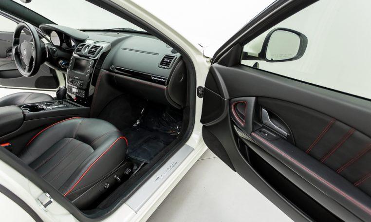 2012 Maserati Quattroporte Sport passenger front seating area picture