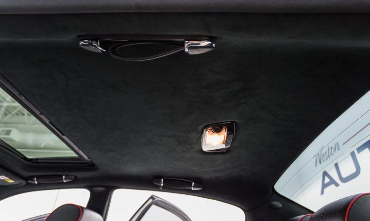 2012 Maserati Quattroporte Sport rear headliner picture