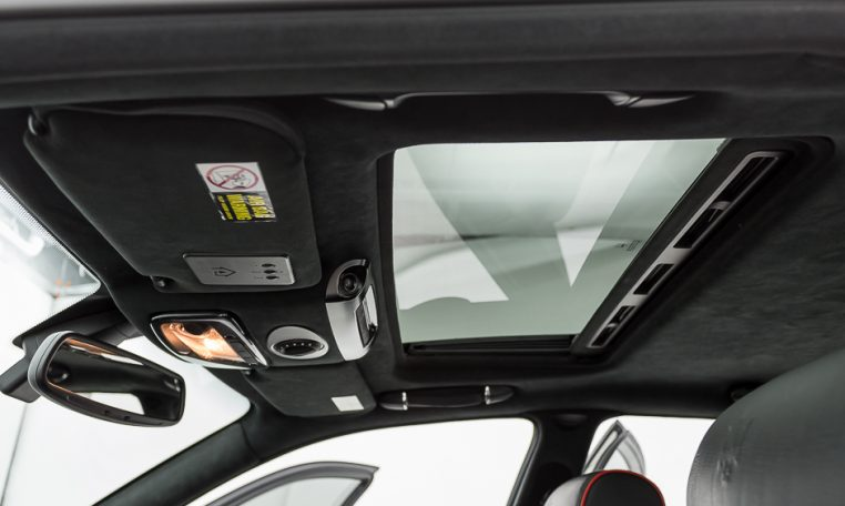 2012 Maserati Quattroporte Sport front headliner roof and sunroof picture