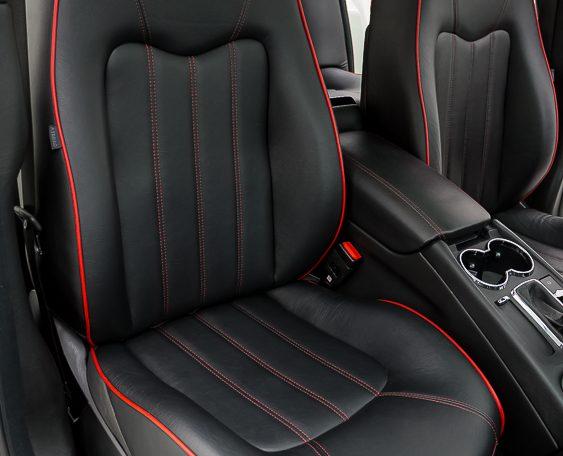 2012 Maserati Quattroporte Sport passenger seat picture