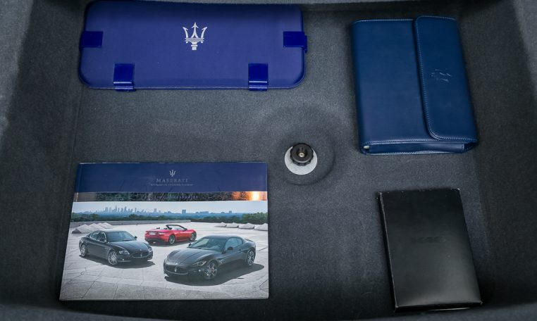 2012 Maserati Quattroporte Sport trunk picture other