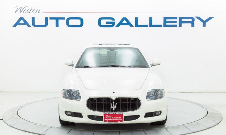 2012 Maserati Quattroporte Sport front end picture