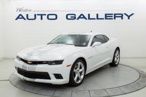 White Camaro 2SS Weston Auto Gallery Consignments Fort Collins Colorado