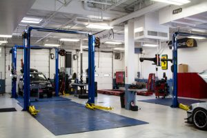 Weston Auto Gallery Service Center Clean and Professional