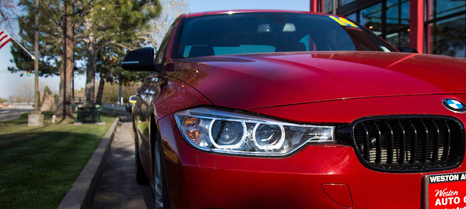 red BMW wesont auto gallery fort collins colorado